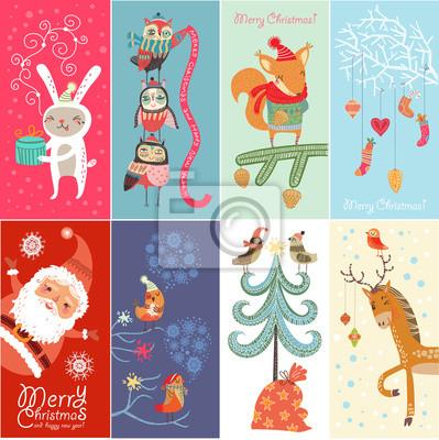 Ensemble de bannières de Noël