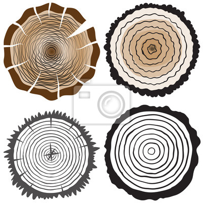 Ensemble de Big cercle noir grunge silhouette sur fond blanc. Isoleated. Stylisée symbole du Japon. Vector illustration.