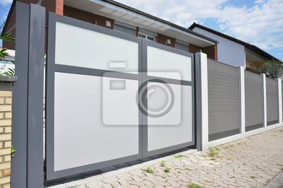 Entrée moderne dans laccès maison papier peint • papiers peints ...