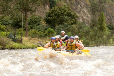 Papiers peints Equateur Rafting en rivière Whitewater