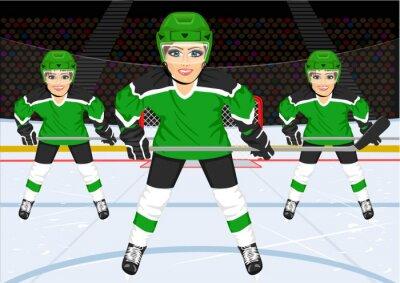 Papiers peints Équipe féminine de hockey sur glace