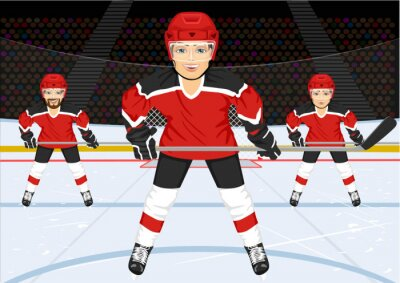 Papiers peints Équipe masculine de hockey sur glace