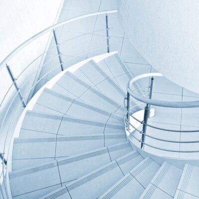 Papiers peints Escalier en colimaçon