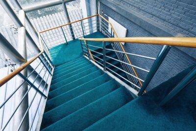 Papiers peints escaliers dans les bâtiments