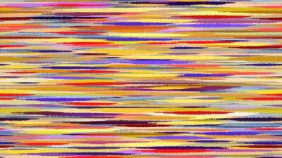 Papiers peints Été aquarelle abstraite de fond. Motion Blur bleus rouges lignes de transition jaunes. Digital background raster illustration.