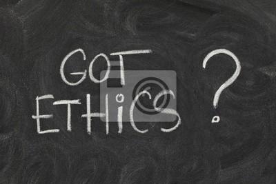 Papiers peints Éthique obtenu?