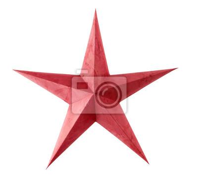 Étoile de Noël rouge