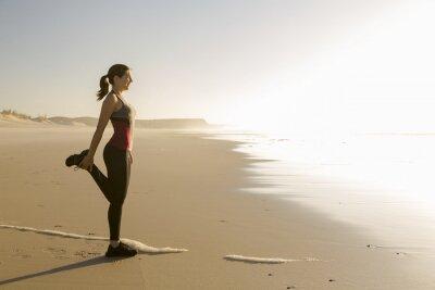 Papiers peints Exercice à la plage