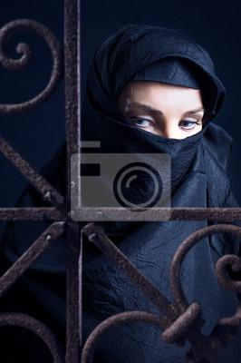 femme arabe.