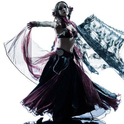 Papiers peints Femme arabe danseuse du ventre danse