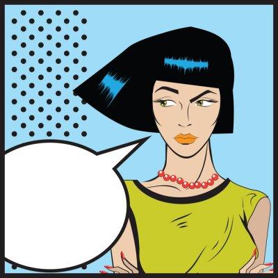 Papiers peints Femme, pop art - rétro, Clip Art, Illustration