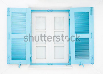 Papiers peints Fenêtres de style grec