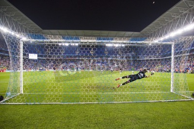 Papiers peints Fernando Pacheco of RM in action at the Spanish Cup match between UE Cornella and Real Madrid, final score 1 - 4, on October 29, 2014, in Cornella, Barcelona, Spain