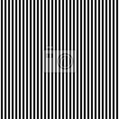 Feuillets en noir et blanc verticaux verticaux géométriques sans vecteur. Fond rayé.