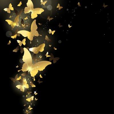 Papiers peints feux d'artifice de papillons
