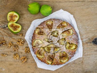 Fig tarte aux noix