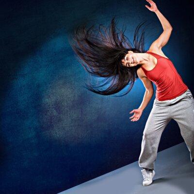 Papiers peints fille de danse