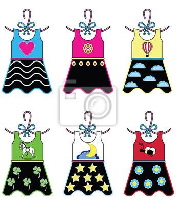 Filles garde-robe robes