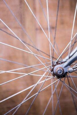 Papiers peints Fin, haut, vue, rayons, roue, vélo