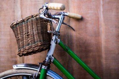 Papiers peints Fin, haut, vue, vieux, vert, vélo