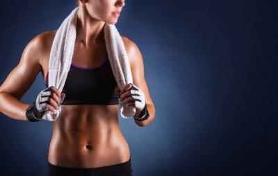 Papiers peints Fitness femme