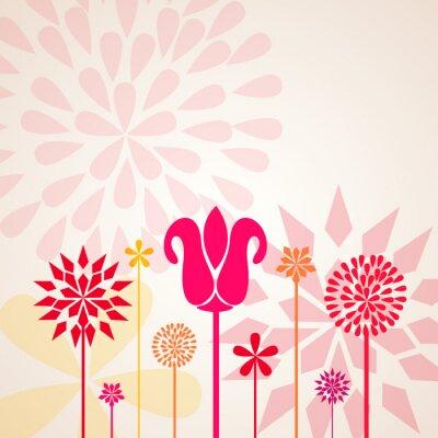 Papiers peints Fleurs décoratives