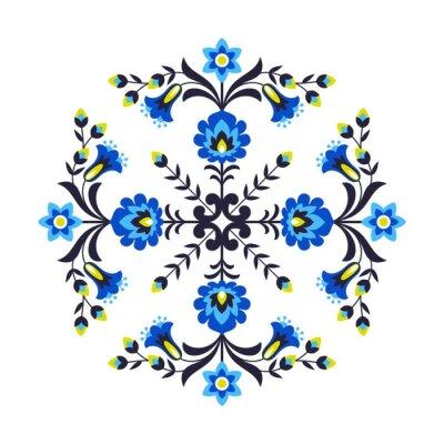 Papiers peints Fleurs populaires polonaises