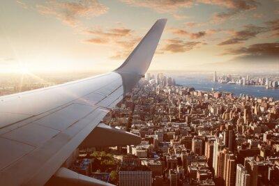 Papiers peints Flight over New York City