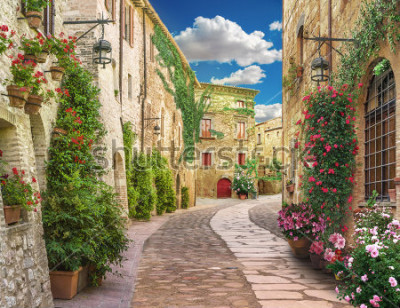 Papiers peints Flolar, old Italy street