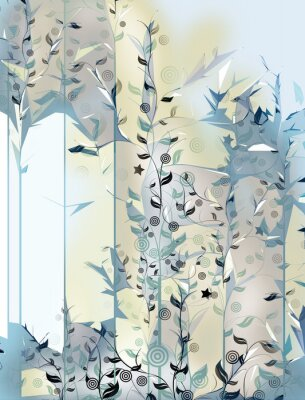 Papiers peints floral