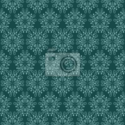 floral vert mosaïque sécession éclairé motif motif