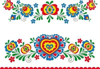 Papiers peints Folk ornaments