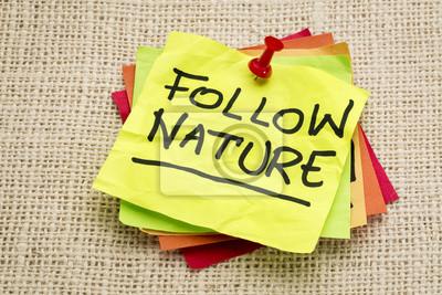 Papiers peints follow nature