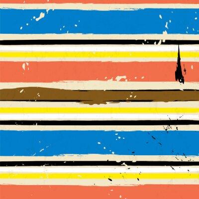 Papiers peints Fond abstrait, avec des traits et des éclaboussures, motif de rayure,