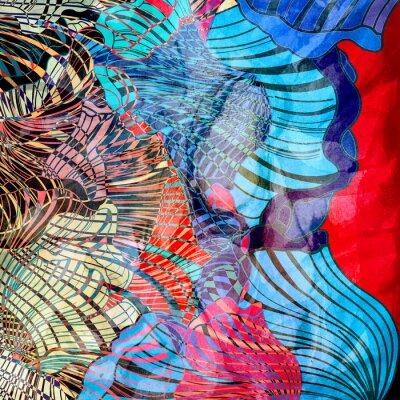 Papiers peints Fond abstrait coloré