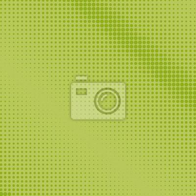Fond Vert Clair fond dart pop, points verts sur un fond vert clair, fond de papier