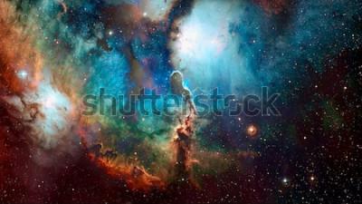 Papiers peints Fond d'espace de haute qualité. Éléments de cette image fournie par la NASA.