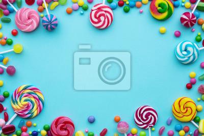 Papiers peints Fond de bonbons