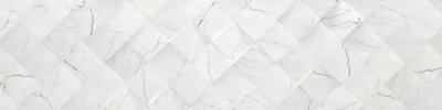 Papiers peints Fond de marbre blanc large (illustration 3d)