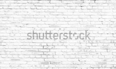 Papiers peints fond de mur de briques blanches dans une pièce rurale,