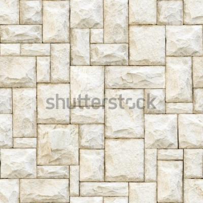 Papiers peints Fond de surface pierreux beige sans soudure.