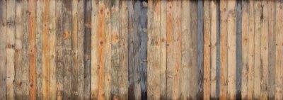 Papiers peints Fond de texture de mur en bois couleur brun