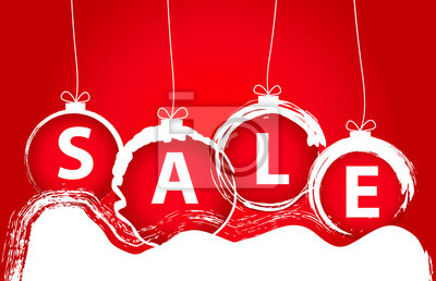 Fond de vente de Noël. Illustration vectorielle