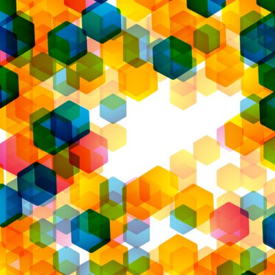 Papiers peints fond géométrique
