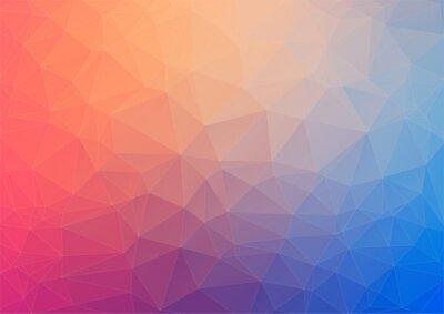 Papiers peints Fond géométrique coloré avec des triangles