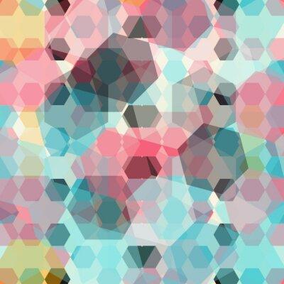 Papiers peints Fond géométrique de couleur