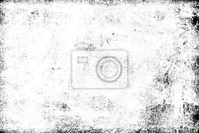 Papiers peints Fond grunge noir et blanc. Texture de copeaux, fissures, rayures, éraflures, poussière, saleté. Surface monochrome sombre. Ancien modèle de vecteur vintage
