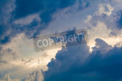 Papiers peints Fond naturel du ciel et des nuages