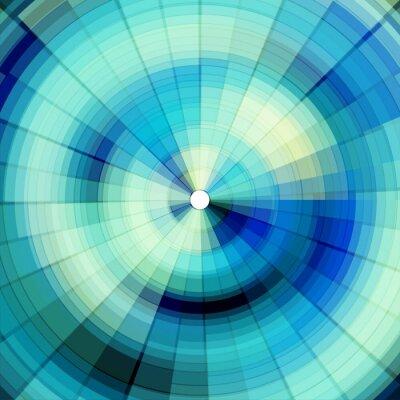 Papiers peints fond numérique bleu froid