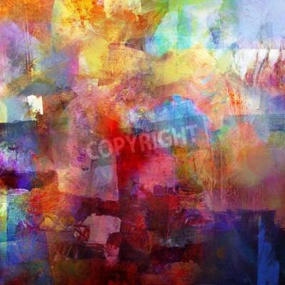 Papiers peints fond peint abstrait - créé en combinant différentes couches de peinture